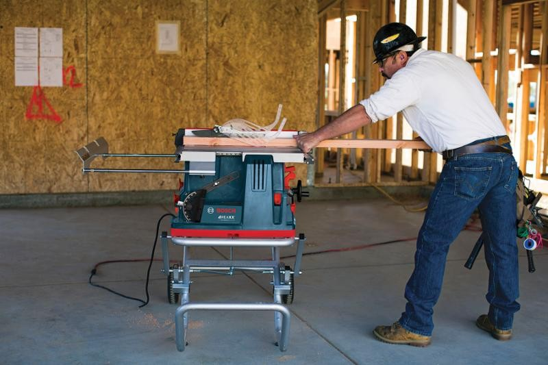 Bosch Announces Reaxx Gts1041a Jobsite Table Saw With