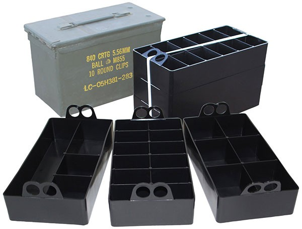 Small Parts Organizers For 50 Caliber Ammo Cans Tool