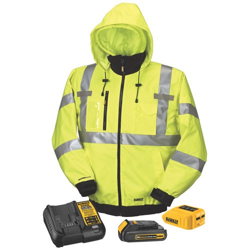 New Heated Jacket Hoodie And Vest Styles From Dewalt