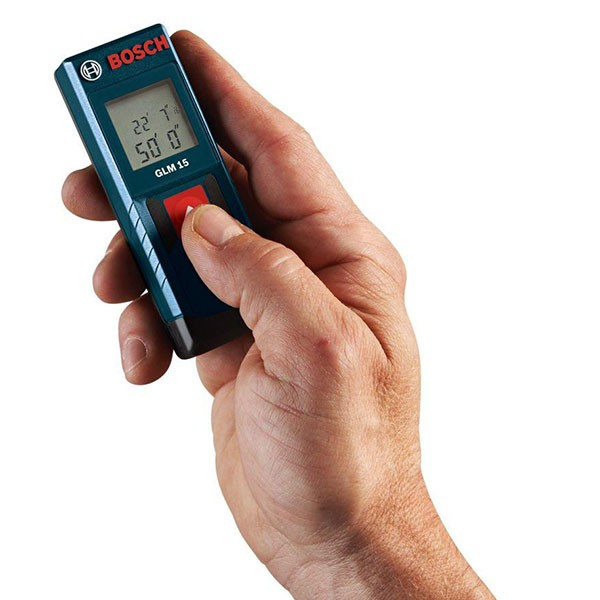 Laser Measuring Instruments : Bosch glm laser measure aims to replace your tape