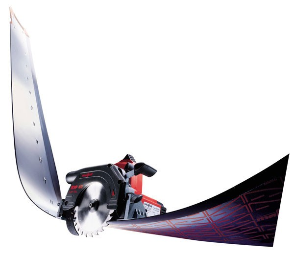 Mafell Flexible Track Saw System Rolls Up For Easy Transport - Tool
