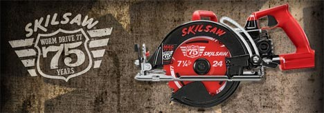 Skilsaw Model 77 Celebrates 75 Years With Special Anniversary Edition