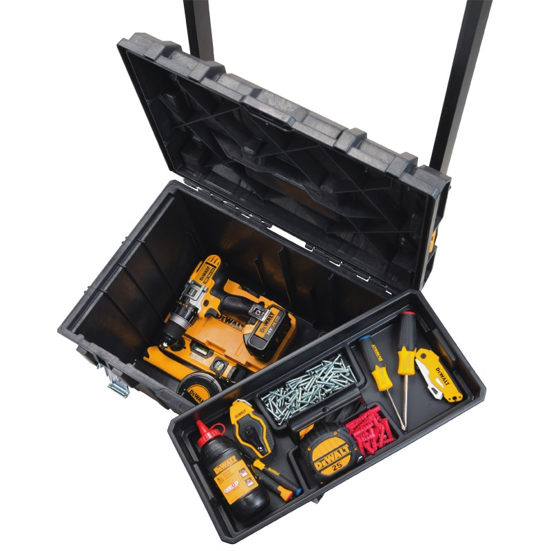 Dewalt Expands Toughsystem With New Boxes And Wall Rack