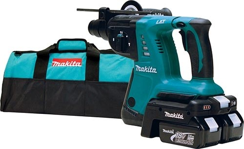 makita hrh01zx2 36v rotary hammer actually runs on two 18v batteries tool. Black Bedroom Furniture Sets. Home Design Ideas