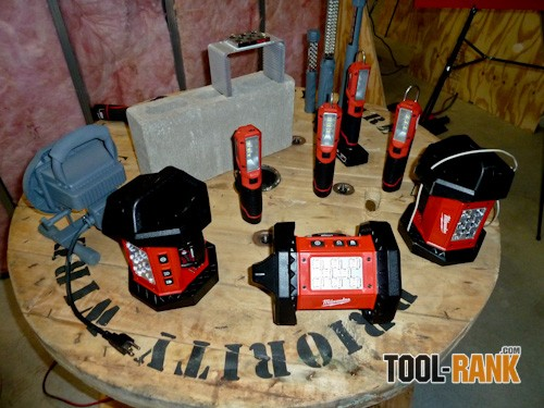 Milwaukee Cordless LED Work Lights