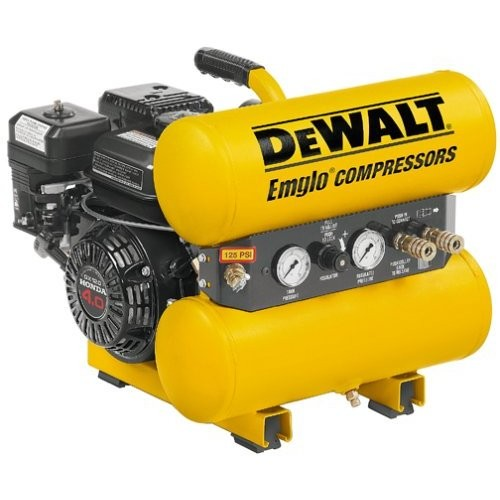 Air Tools Dewalt D55250 4 Horsepower 4 Gallon Oiled Twin