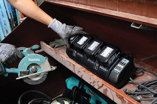 Makita Announces New 4 Port Lithium Ion Charger Tool
