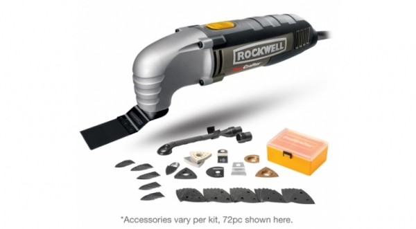 Power Tools Rockwell Sonicrafter Deluxe 72 Piece Kit