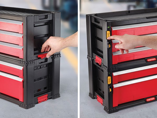 Keter Modular Tool Chest Storage System