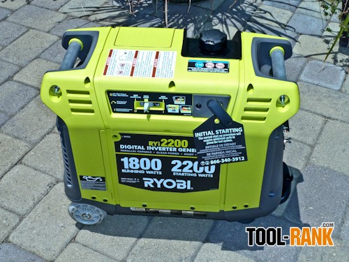 Ryobi 2200 Watt Gasoline Digital Inverter Generator Review