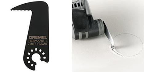 New Dremel Cutting Knife And Drywall Jab Saw Blade For