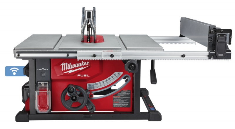 Milwaukee M18 Cordless Table Saw with One-Key