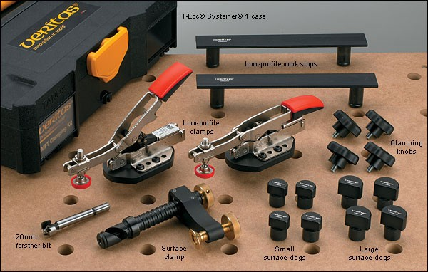 Veritas bench dog clamping kit for the mft tool Bench dog
