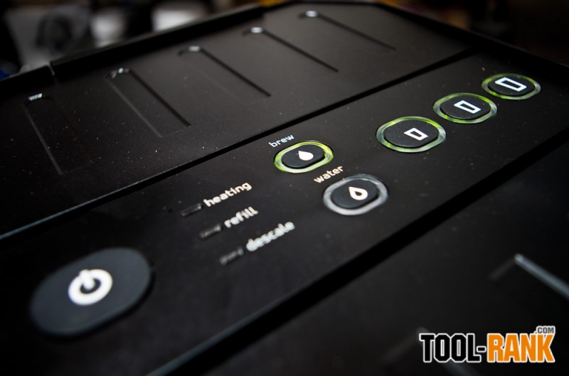 Coffeeboxx by Oxx Control Panel