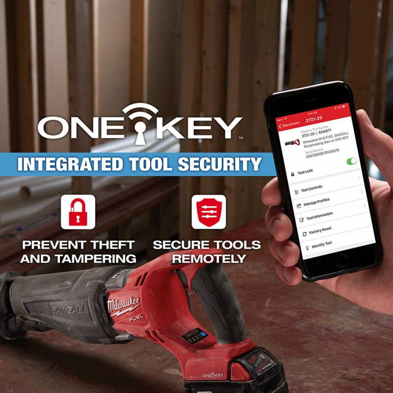 Tool Security And Trigger Lock Enabled In Lastest One Key