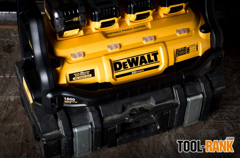 DeWalt DCB1800 Portable Power Station ToughSystem Connection
