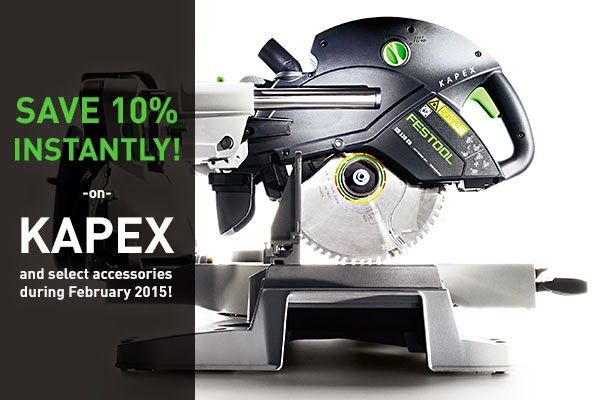 Hot Deal Festool 10 Off Sale On Kapex Miter Saw And Accessories