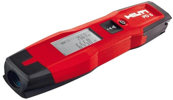 Laser Measuring Instruments : Hilti redesigns the laser measure and i like it tool