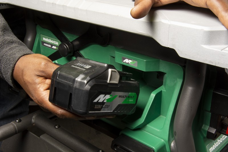 Metabo Hpt Announces First Cordless 10 Inch Table Saw