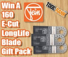 Tool-Rank Giveaway: Win A FEIN 160 E-Cut LongLife Blade Gift Pack