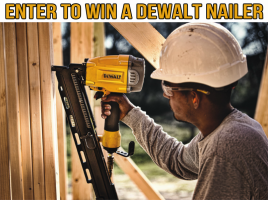 Tool-Rank - DeWalt Nailer Winner's Choice Giveaway