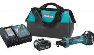 Makita XOC01M 18V Cordless Drywall Cut-Out Tool.