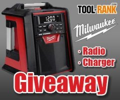 Milwaukee 2792-20 radio/charger giveaway