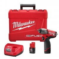 "Milwaukee M12 FUEL 3/8"" Impact Wrench Kit - 2454-22"