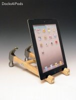 Docks4iPods Turns Tools Into iPad Stands