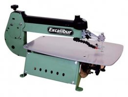 Power Tools Excalibur 21 Inch Variable Speed Scroll Saw  - EX-21 Reviews