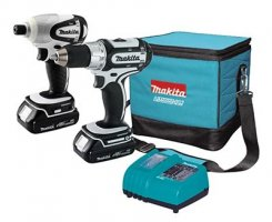 Makita LCT200W 18V Compact Lithium-Ion 2-Pc. Combo Kit