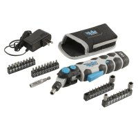 SpeedHex FlipOut 8-Volt Max Cordless Driver with 19-Piece Bit Set and 20-Piece Bonus Bit Set