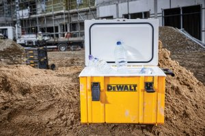 DeWalt Expands ToughSystem With Rugged Cooler and Sealed Drawer