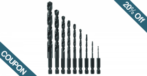 20% Off Coupon for Bosch Impact Drill Bits