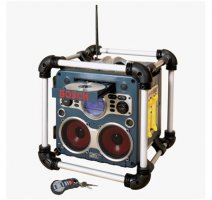 Bosch Power Box™ ADVANCED Jobsite AM/FM Stereo with CD and Remote PB10-CD