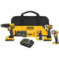 DeWalt DCK420D2 4-Tool 20V Max Lithium Ion Cordless Combo Kit with Soft Case