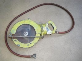 Rare 12-inch Pneumatic Skil Saw Model 2127 Shows Up On Ebay