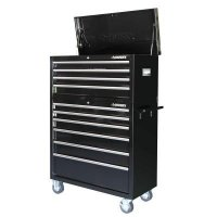 Husky HOTC4010B1ARS 40 in. 10-Drawer Tool Chest and Cabinet Set