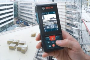 New Feature Gives Bosch Laser Distance Measurer 400ft. range with 1/16in. Accuracy