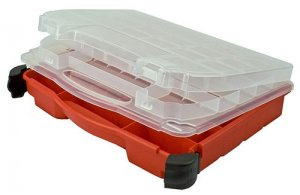 Hot Deal: Plano Molding 5231 Double Cover Stow N Go Organizer