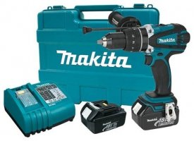 New Makita Cordless Hammer Drill, Orbital Sander & LED Light Show Up On The Makita Website