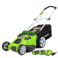 GreenWorks 25302 Twin Force Cordless Mower