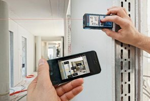 New Bosch GLM 100 C Laser Measure Talks To Your Smartphone