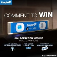 Empire TRUE BLUE UltraView Level Giveaway