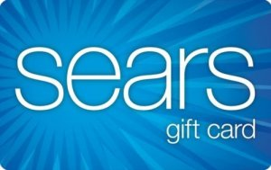 $100 sears gift card on sale for $80
