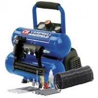 Campbell Hausfeld 2-Gallon Air Compressor with Nailer and Accessory Kit FP209599DI