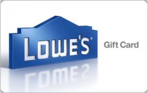 $200 Lowe's Gift Card for $175 @ ebay