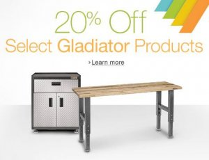 20% off gladiator products