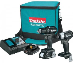 BLACK Line Of Makita Tools Offers 18V Power at 12V Size