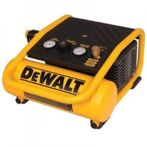 DEWALT 1 GAL. PORTABLE ELECTRIC TRIM AIR COMPRESSOR $107 @ HOMEDEPOT
